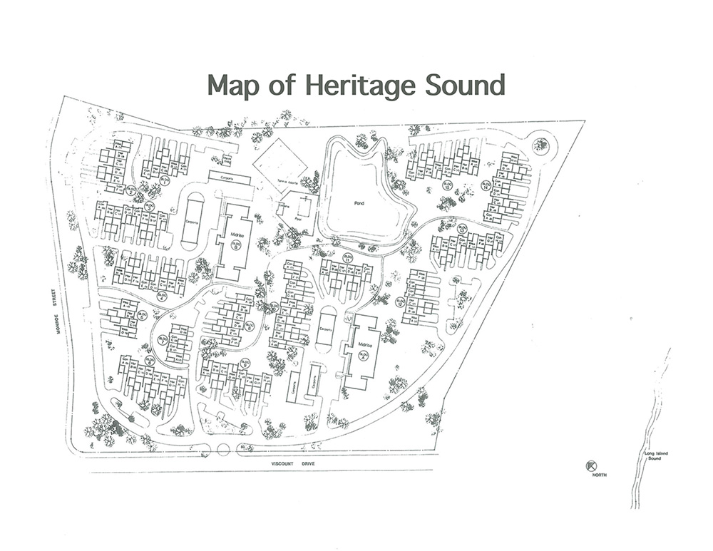 map of heritage sound property